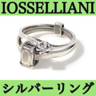 イオッセリアーニ(IOSSELLIANI)の美品!イオッセリアーニ シルバーリング 10号(リング(指輪))