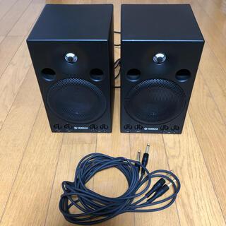ヤマハ(ヤマハ)のYAMAHA モニタースピーカー MSP3 ペア (2台) ケーブル付き(スピーカー)