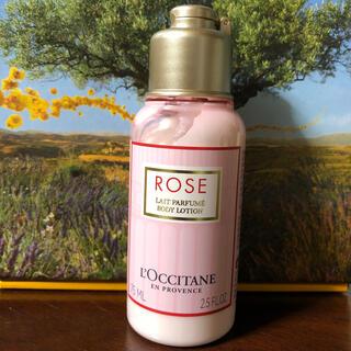 ロクシタン(L'OCCITANE)のロクシタンローズベルベットボディミルク未開封新品(ボディローション/ミルク)