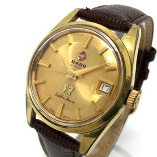 ラドー(RADO)のラドー デイト 自動巻き 腕時計 11674/1 ゴールデンホース ゴールド(腕時計(アナログ))