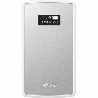 エヌイーシー(NEC)のAterm モバイルルーター MP02LN SW(PC周辺機器)