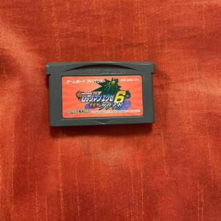 ゲームボーイアドバンス(ゲームボーイアドバンス)のロックマンエグゼ6電脳獣グレイガ GBA アドバンス ソフト カセット(携帯用ゲームソフト)