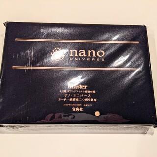 ナノユニバース(nano・universe)のmonomaster 付録(折り財布)
