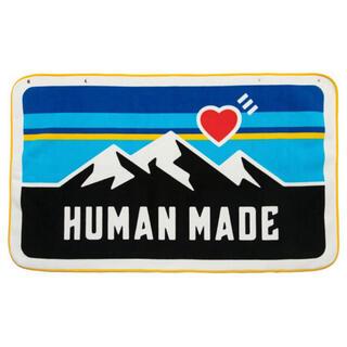アベイシングエイプ(A BATHING APE)のhuman made フリース ブランケット fleece blanket(毛布)