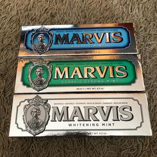 マービス(MARVIS)のマーヴィス 歯磨き粉 3本セット(歯磨き粉)