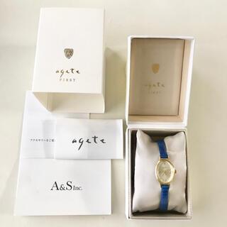 アガット(agete)の新品 agete FIRST 腕時計(腕時計)