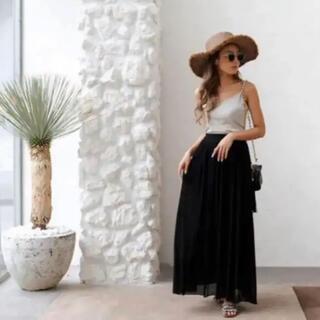 ルームサンマルロクコンテンポラリー(room306 CONTEMPORARY)のroom306 ブラック ロングスカート(ロングスカート)