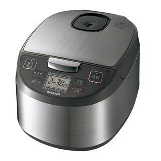 SHARP - SHARP ジャー炊飯器5.5合炊 KS-S10J シルバー 新品