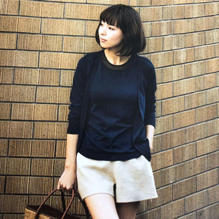 FOXEY - ★FOXEY フォクシー★アンサンブルニット 38 ミッドナイトブルー