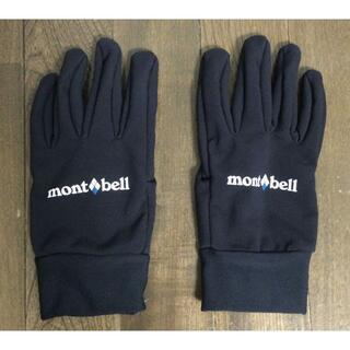 モンベル(mont bell)のモンベル ウインドストッパートレッキンググローブ  ゴアテックス M(手袋)