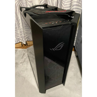 エイスース(ASUS)のハルチ様ASUS ROG Strix Helios 自作PCパーツケース(PCパーツ)