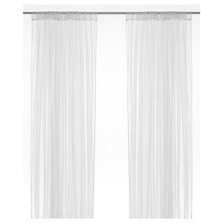 イケア(IKEA)の【新品・未開封】レースカーテン LILL リルカーテン(レースカーテン)