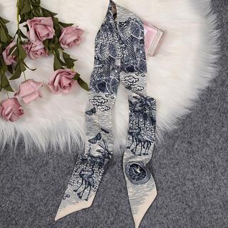 ザラ(ZARA)のフレンチプリント タイニーリボンスカーフ ブランド(バンダナ/スカーフ)