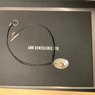 アンドゥムルメステール(Ann Demeulemeester)のAnn Demeulemeester バロックパール 貝殻 ネックレス(ネックレス)