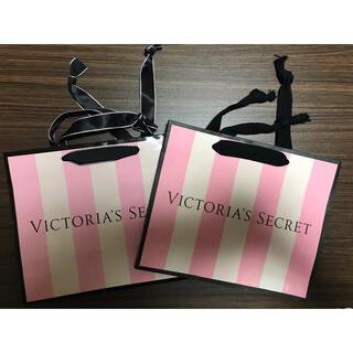 ヴィクトリアズシークレット(Victoria's Secret)のヴィクトリアシークレット victora's  secret  ショップ袋 2枚(ショップ袋)