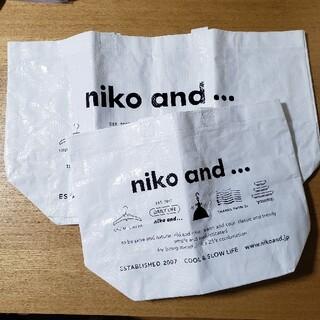 ニコアンド(niko and...)のNiko and…(エコバッグ)