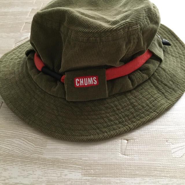 CHUMS(チャムス)のチャムス コーデュロイハット レディースの帽子(ハット)の商品写真