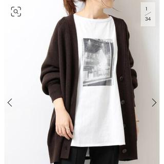 スピックアンドスパン(Spick and Span)のSpick and span フォトロングラウンドTシャツ(Tシャツ(長袖/七分))