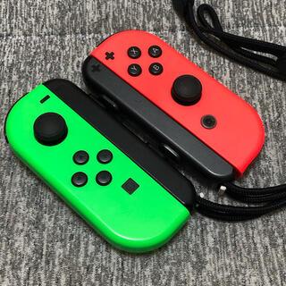 ニンテンドースイッチ(Nintendo Switch)のNintendo Switch Joy-Con ネオングリーン ネオンレッド(その他)