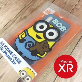 ミニオン(ミニオン)の箱割れ特価 ミニオンズ iPhoneXR シリコンケース MINI121A(iPhoneケース)