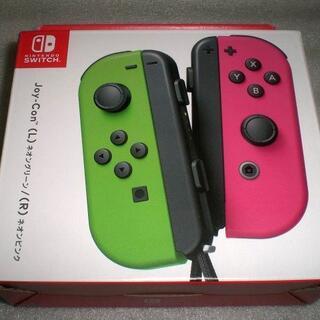 ニンテンドースイッチ(Nintendo Switch)の【新品】純正 Switch Joy-Con スプラトゥーンver(その他)
