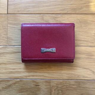 フルラ(Furla)の正規品 FULRA 折り財布 赤 リボン(財布)