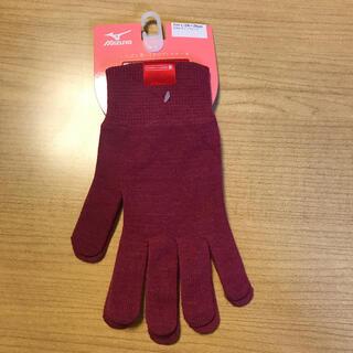 ミズノ(MIZUNO)のL レディース 手袋 ミズノ MIZUNO ブレスサーモ ニット(手袋)