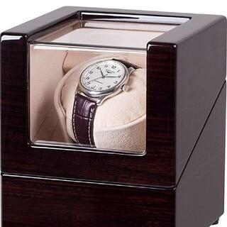 ☆ワインディングマシーン ウォッチワインダー 腕時計自動巻き器 静音設計☆(その他)