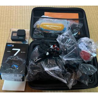 ゴープロ(GoPro)の美品!GoPro black hero 7 その他おまけ(コンパクトデジタルカメラ)