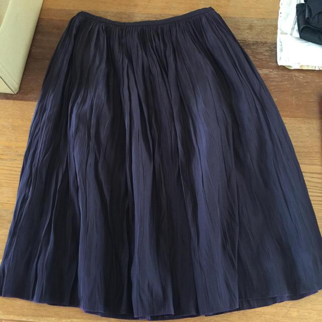Noble(ノーブル)のNoble ギャザースカート レディースのスカート(ひざ丈スカート)の商品写真