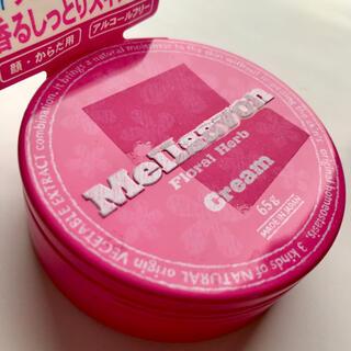 メルサボン(Mellsavon)の新品 Mellsavon スキンケアクリーム 65g缶入り フローラルハーブB(ハンドクリーム)