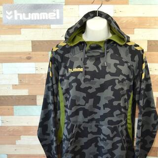 ヒュンメル(hummel)の【hummel】 美品 ヒュンメル 迷彩デザイン柄パーカー サイズXO(パーカー)