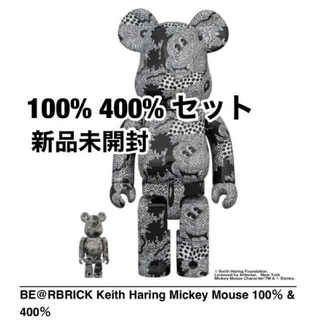 BE@RBRICK Keith Haring Mickey Mouse (その他)