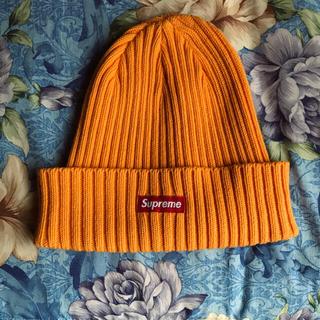 シュプリーム(Supreme)のSupreme オレンジ ニット帽(ニット帽/ビーニー)
