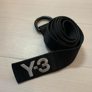 ワイスリー(Y-3)のY-3 ロゴベルト ブラック S(ベルト)