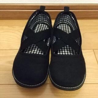 ファミリア(familiar)のファミリア 黒 靴20センチ(フォーマルシューズ)