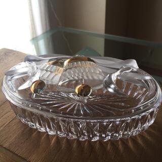 昭和レトロ  ガラスの小物入れ(小物入れ)