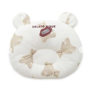 ジェラートピケ(gelato pique)のジェラート ピケ ベアモチーフ ベビー ピロー(枕)