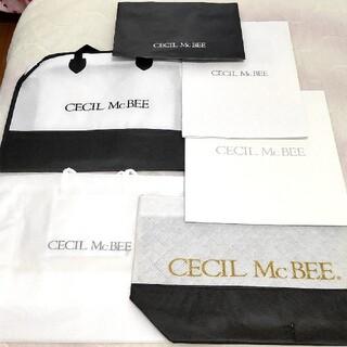 セシルマクビー(CECIL McBEE)のセシルマクビー ショッパー セシル ショップ袋 ブランド(ショップ袋)