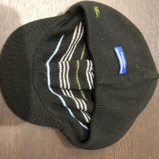 バーバリーブルーレーベル(BURBERRY BLUE LABEL)のバーバリーブルーレーベルのリバーシブルニット帽!(ニット帽/ビーニー)