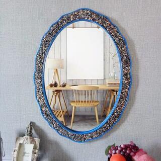 デザインミラー 壁掛け鏡 アンティーク調 壁掛け 壁掛けミラー ウォールミラー (壁掛けミラー)