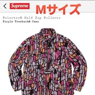 シュプリーム(Supreme)のsupreme polartec half zip pullover(スウェット)