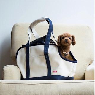 free stitch 犬用キャリーバッグ キャンバス地(犬)