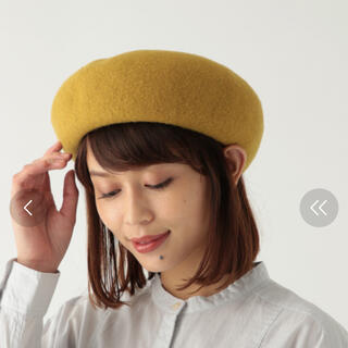 スタディオクリップ(STUDIO CLIP)のフンワリキープベレー(ハンチング/ベレー帽)
