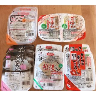 カメダセイカ(亀田製菓)の低たんぱくご飯 5種類10食分♡レトルト 食べ比べ 白米 腎臓病(米/穀物)