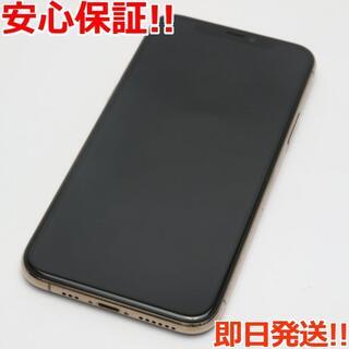 アイフォーン(iPhone)の美品 SIMフリー iPhone 11 Pro 64GB ゴールド (スマートフォン本体)