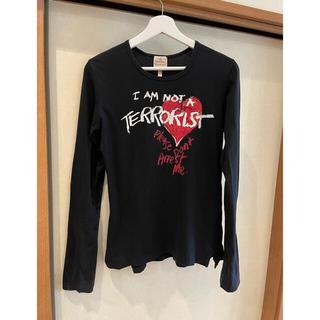ヴィヴィアンウエストウッド(Vivienne Westwood)のVivienne Westwood テロリストTシャツ(Tシャツ/カットソー(七分/長袖))