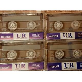 マクセル(maxell)のカセットテープ新品(10分用)4本セット(映画音楽)