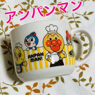 スカイラーク(すかいらーく)のアンパンマン☆マグカップ非売品(キャラクターグッズ)