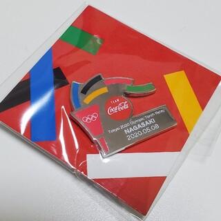 コカコーラ(コカ・コーラ)のコカ・コーラ 2020 オリンピックピンバッチ 聖火リレー長崎(バッジ/ピンバッジ)